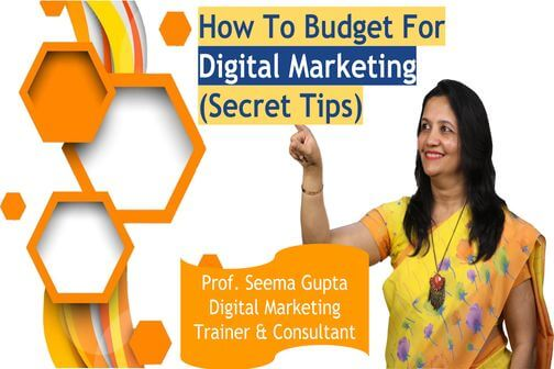 How to budget for digital marketing