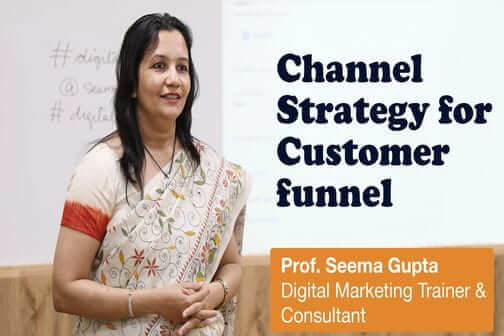 Channel strategy for customer funnel