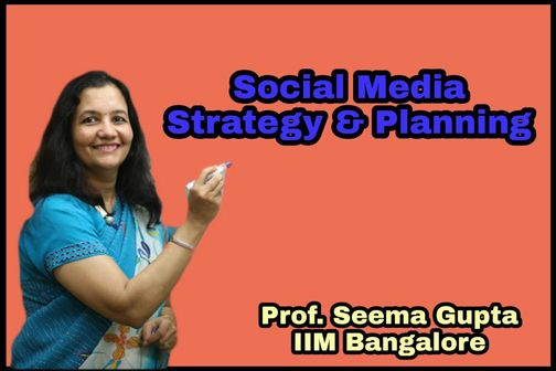 Social Media Strategy and Planning