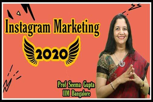 Instagram marketing 2020, Social Media Marketing