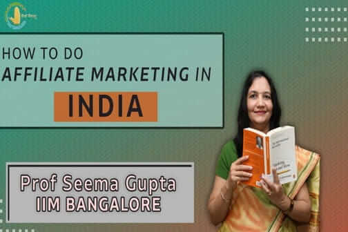 How to do affiliate marketing in India