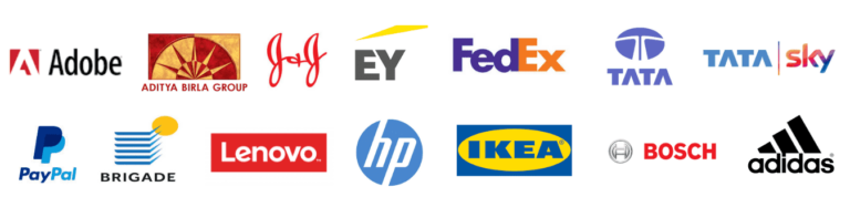 Logos of companies that trust us