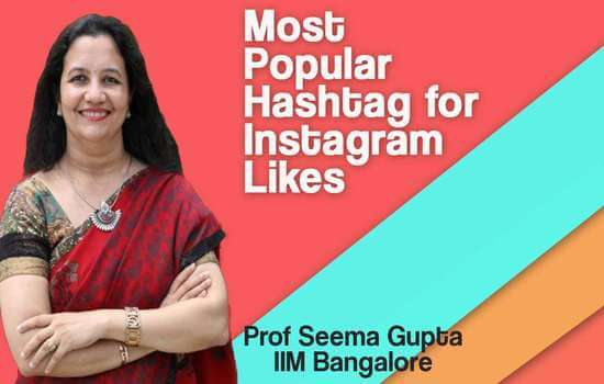 Most popular hashtags for Instagram likes