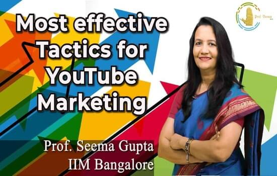 Most effective tactics for YouTube marketing